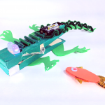Ever want a pet  Crocodile?  Now you can build one!