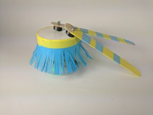 Put on a multisensory performance with this drum that lights up when you play!