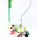 Abduct some pipe-cleaner people with this UFO!