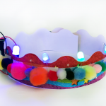 Make your own light-up Crown with LED's!
