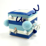 Cute wiggling buddy in a Vibrating Box!